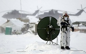 Russian military satellites will provide high-speed communications in the Arctic