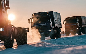 Kamaz had successfully tested the unmanned trucks in the Arctic