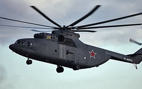 Russia plans to create an arctic version of the Mi-26 helicopters